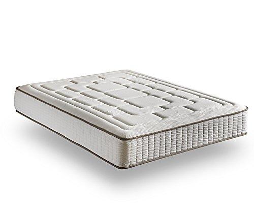 Zeng Visco Luxury Confort Viscoelástico, Algodón-Poliéster y Fibras Cashmere, Blanco, Cama 135/140 (Queen), 135 x 190 cm: Amazon.es: Hogar