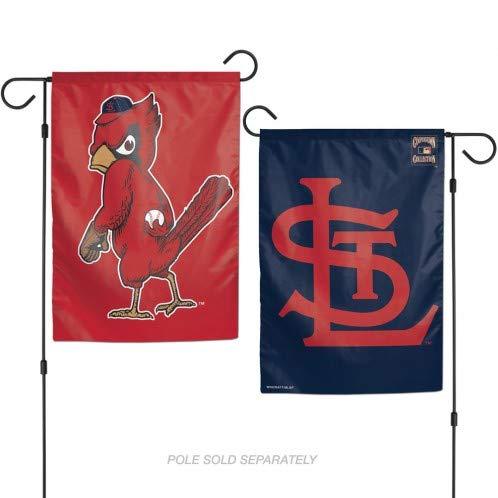 WinCraft St. Louis Cardinals 2 Sided Garden Flag 12