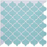 "VanBest Peel and Stick Tile 10""x10"" Self-Adhesive 3D Vinyl Wall Tiles,Pack of 6"