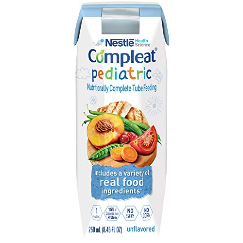 (Compleat Compleat Pediatric, Unflavored 24 X 250 Ml Tetra Prisma, 24 Count)