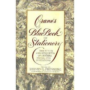 Crane's Blue Book