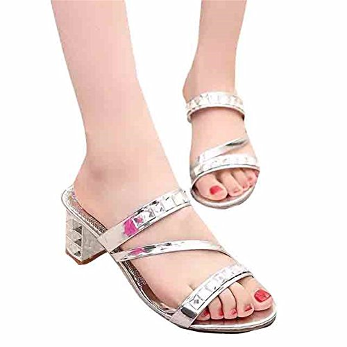 Sandales de de Heel Hors Fête Yin Ladies' Mariage YUCH High WRq8v0I