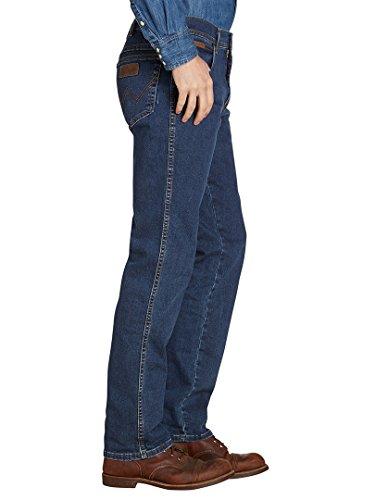 Wrangler Herren Jeans Texas Stretch Darkstone, Größe:W30 L30;Farbe:Darkstone