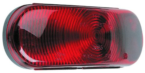 Wesbar 403085 Tail Light Module 6 Oval Incandescent W18-0307