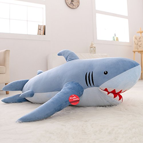 Niuniu Daddy 71'' Giant Shark Plush Pillow Super Large Stuffed Animal Toys,  Animals & Figures - Amazon Canada