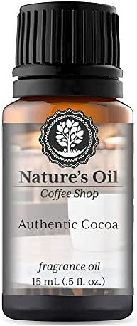 Authentic Cocoa Fragrance Oil (15ml) For Diffusers, Soap Making, Candles, Lotion, Home Scents, Linen Spray, Bath Bombs, Slime