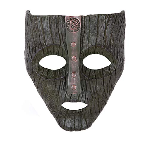 Film Theme Resin Loki Cosplay Face Mask Prop for Halloween Party Cosplay Collection (Deep) ()