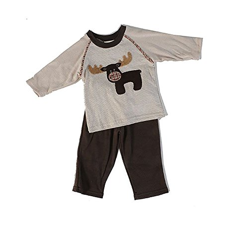 - Cach Cach Handsome Toddler Boys' Moose Pant Set (24 Months)