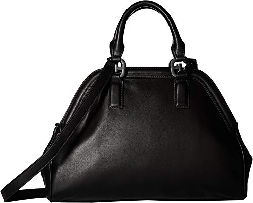 Sam Edelman Women's Noely Bowling Bag Satchel Black One Size