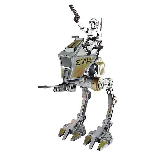 Star Wars Deluxe Figure & Vehicle  - Clone Scout with at-RT ()