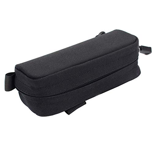 LytHarvest Tactical Eyeglasses Case, 1000D Nylon Eyeglasses Hard Case Tactical Molle Sunglasses Carrying Case with Clip, ()