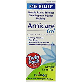 Boiron Arnicare Gel, 2.6-Ounce (Twin pack), Homeopathic Medicine for Pain Relief and Bruises