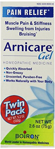 Boiron Arnicare Gel, 2.6-Ounce (Twin pack), Homeopathic Medicine for Pain Relief and Bruises (Gel Anti Inflammatory)
