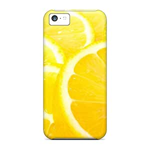 Top Quality Cases Covers For Iphone 5c Cases With Nice Lemon Slices Appearance