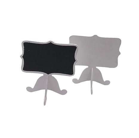 Mini pizarras rectangulares en soportes para pizarra de ...