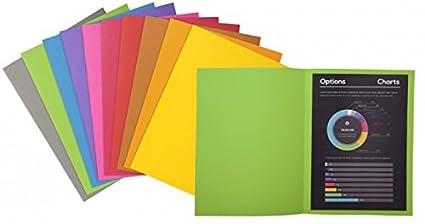 24x32cm,100er Packung,farblich sortiert EXACOMPTA 410000E Forever Aktendeckeln DIN A4