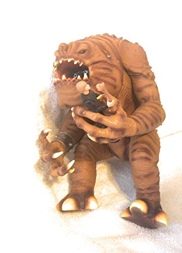 Star Wars Power of The Force Action Figure Playset - Rancor and Luke Skywalker