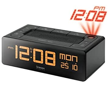 Radio-despertador Proyector Parlante EC101 + 4 pilas Power Photo ...