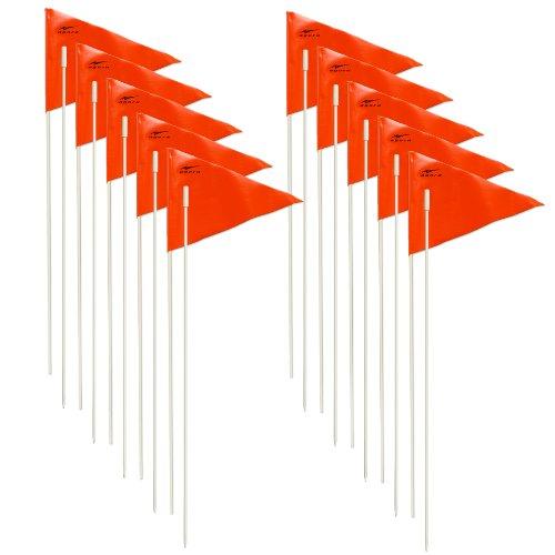 AGORA Fiberglass Trainer Flags - Set of 10