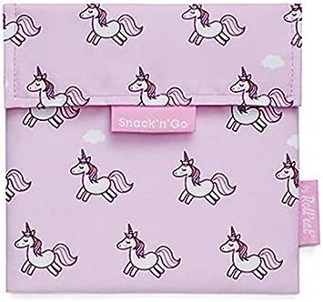 2 Unidades Fundas Bocadillo con Cierre F/ácil Rolleat Pack x2: BOC/'n/'Roll Animals Unicorn Bolsas Merienda Porta Bocadillos Ecol/ógicas y Reutilizables sin BPA SG Animals Panda