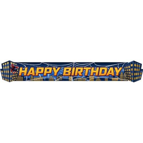 Spider Hero Dream Party Birthday Banner