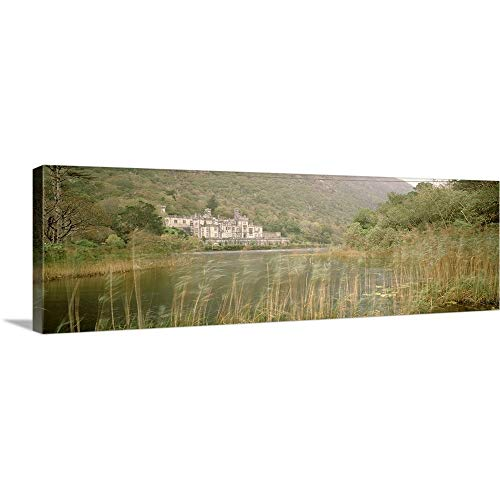 GREATBIGCANVAS Gallery-Wrapped Canvas Entitled Kylemore Abbey County Galway Ireland by 60