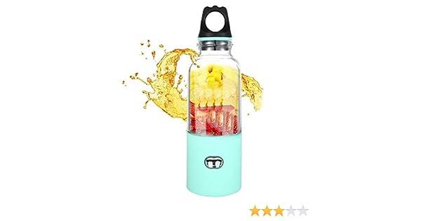 Pawaca - Botella de licuadora portátil con Capacidad de 500 ml y ...