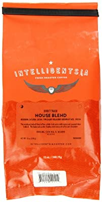 Intelligentsia House Blend, Direct Trade, Whole Bean Coffee, 12 Ounce