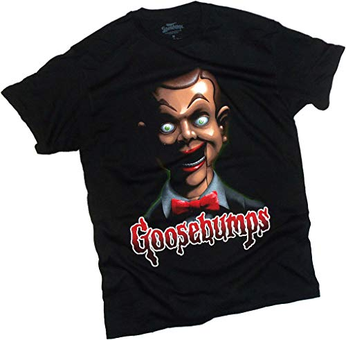 Goosebumps, Slappy The Scary Puppet, Adult T-Shirt, X-Large
