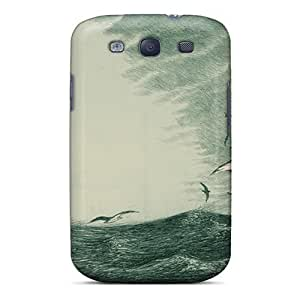 Fashion Tpu Case For Galaxy S3- To The Pursuit Of Moby Dick Defender Case Cover