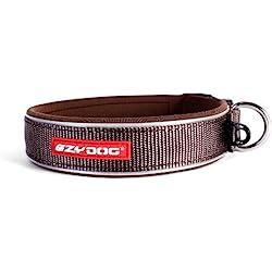 EzyDog Neo Dog Collar, Extra Large, Chocolate