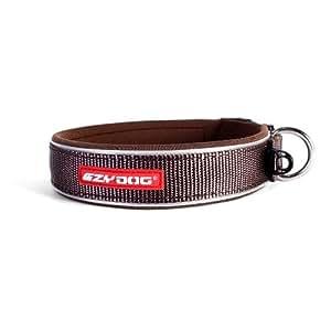 EzyDog Neo Dog Collar, X-Small, Chocolate