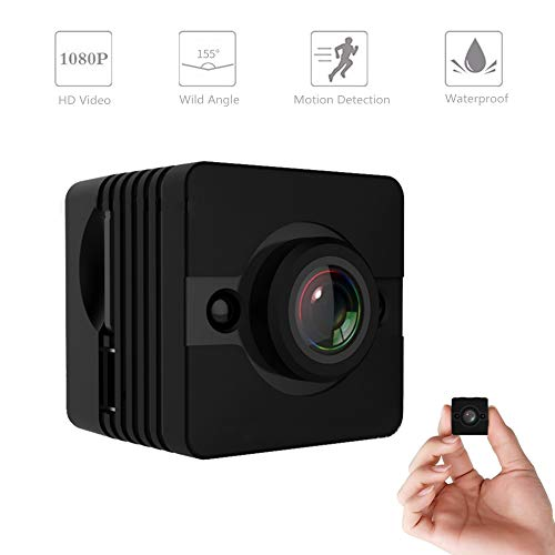 Cheap Nanny Cam, Eesteros Waterproof 1080P HD Mini Camera Home Security Camera 155° Wild Angle with Motion Detection Mode Support 32GB Micro SD Card (Not Include)