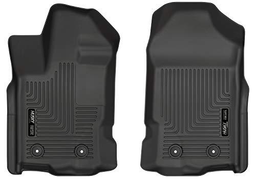 Husky Liners 13411 Black Front Floor Liners Fits 2019 Ford Ranger