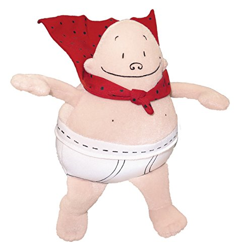Captain Underpants Plush Action Doll, 8'' by MerryMakers
