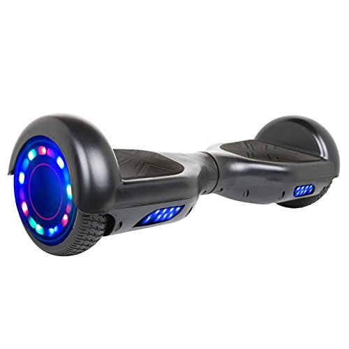Hoverheart Hoverboard 6.5' UL 2272 Listed Two-Wheel Self Balancing Electric Scooter with Bluetooth Speaker (Black)