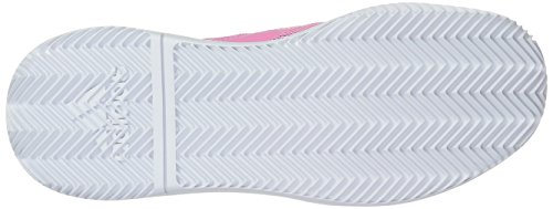 adidas Women's Adizero Defiant Bounce Tennis Shoe Legend Ink/Shock Pink/White 6 M US by adidas (Image #3)