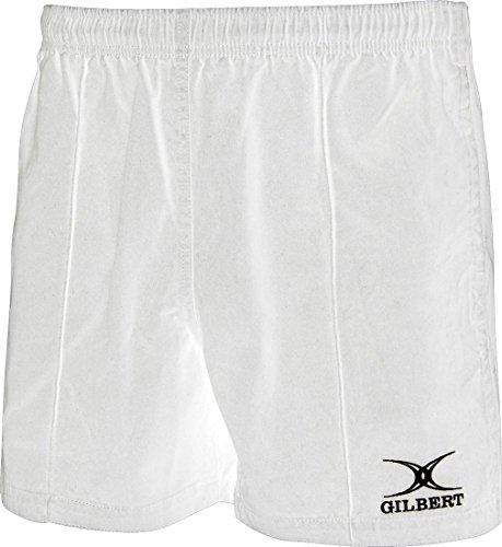 (Gilbert Rugby Short Kiwi Pro White 4XL)
