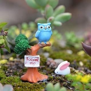 Cupcinu escaleras Miniatura jardín de Hadas Recto Banco DIY Dollhouse Maceta suculenta Plantas Adornos pequeños jardín