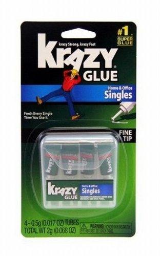 krazy-glue-kg82048sn-instant-crazy-glue-single-use-4-tubes-6-pack