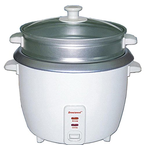 Brentwood 4 Cup Rice Cooker/Non-Stick with Steamer consumer electronics