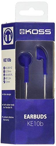 Koss KE10B Lightweight On-Ear Earbud, Blue ()