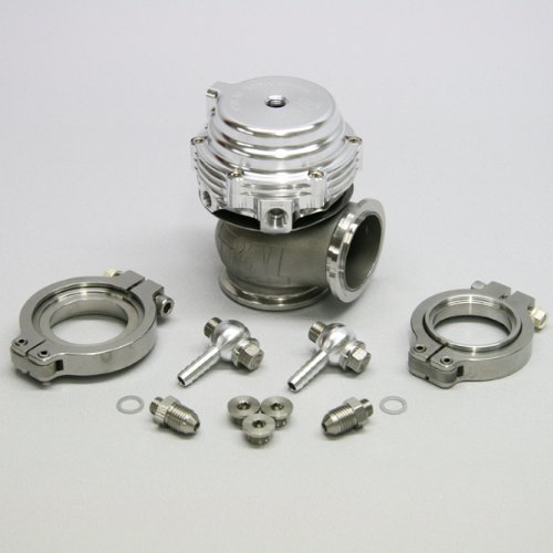 TiAL MV-S 38mm Wastegate Silver With V-Band and Flanges All Springs
