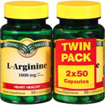 L-arginine 1000 Mg (Pack 2 X 50 Capsules)
