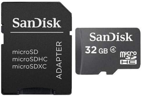 2 Pack HTC Faraday Cell Phone Memory Card 2 x 32GB microSDHC Memory Card with SD Adapter