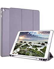 Cover for Apple iPad 10.2 inch/iPad 7th 10.2 inch with Pen Holder - Purple