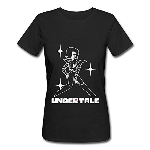 [ZEKO Women's T-shirts Undertale 1 Black] (Dance Central Character Costumes)