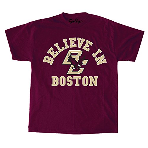 Sully's Brand Believe In Boston - Boston College - Maroon T-Shirt