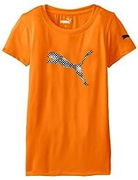 PUMA Girls Big Girls Short Sleeve Core Tee Shirt