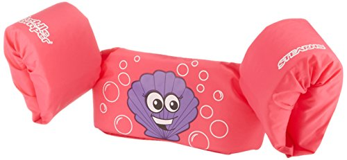(Stearns Puddle Jumper Child Life Jacket, Pink Clam)